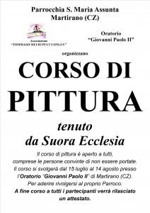 Manifesto corso pittura 2012